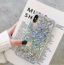 Ultra-thin Bling Glitter Soft Gel Case Cover For iPhone Samsung Galaxy Huawei
