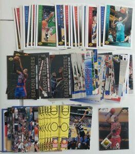 N° NBA Lot  260 cartes - UPPER DECK 93/94 jordan, UPPER DECK 09/10, UD S.E.93/94