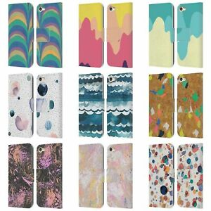 OFFICIAL NINOLA MODERN 2 LEATHER BOOK WALLET CASE COVER FOR APPLE iPOD TOUCH MP3