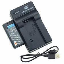 DSTE NP-FC10 NP-FC11 Battery + USB Charger for Sony Cyber-Shot DSC-V1 DSC-FX77