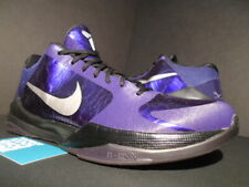 new concept ae980 52ccc 2010 NIKE ZOOM KOBE V 5 INK PURPLE SILVER BLACK ICE WHAT THE 386429-500