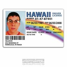 Plastic ID Card (TV & Film Prop) - McLovin SUPERBAD Drivers License Replica