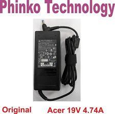 Genuine Original Adapter Charger ACER laptop 19V 4.74A