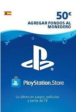 PSN Card 50 euros Spain PlayStation Network