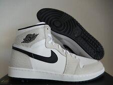 "Nike Air Jordan 1 Retro High ""Elephant Print"" White-Black Sz 16 [839115-106]"