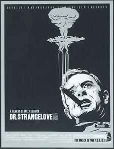 Dr. Strangelove 1964 Retro Movie Poster A0-A1-A2-A3-A4-A5-A6-MAXI 240