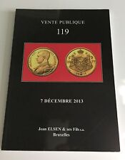 JEAN ELSEN COIN AUCTION CATALOG VENTE PUBLIQUE 119 DEC 2013 ANCIENT WORLD BRUSS