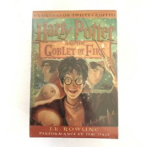 Harry Potter and the Goblet of Fire Unabridged Cassette Tapes Audiobook - New