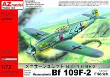 """AZ Models 1/72 Messerschmitt Bf 109F-2 """"Aces"""" # 7530"""