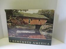 Eric Sloane I Remember America HB- SIGNED and with ORIGINAL SKETCH by SLOANE