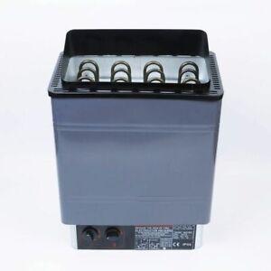 WOO Sauna Heater Stove Wet / Dry Spa 6KW 8KW 9KW Internal Control Aluminum Panel