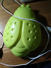 IKEA Smila Bagge Light Nightlight Wall Bug Nature Green Kids Ladybird