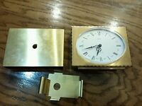 Semca 1 Jewel brass vintage clock..needs work