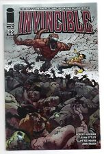 INVINCIBLE #100 CHROMIUM VARIANT WRAP AROUND RYAN OTTLEY COVER! KIRKMAN! NM