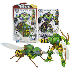 Year 2013 Transformer Generations Thrilling 30 Deluxe Class Figure WASPINATOR