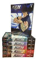 30 Dvd x 6 Box Cofanetto KEN IL GUERRIERO 01+02 PRIMA + SECONDA serie completa