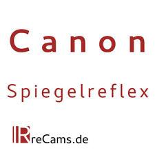 Infrarot Umbau Service für Spiegelreflex Canon Kameras EOS 5D 600D 7D 1200D