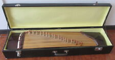 Arpa in legno  - strumento musicale a corda con valigia