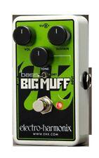 Electro Harmonix Nano Bass Big Muff Distortion Sustainer with Battery EHX