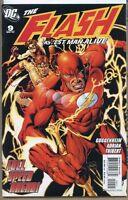 Flash Fastest Man Alive 2007 series # 9 near mint comic book