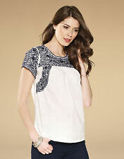 Monsoon Cotton Hip Length Casual Tops & Shirts for Women