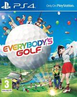 Everybody's Golf & Pre-Order Bonus DLC PS4 * NEW SEALED PAL * emc