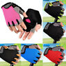 Men Women Sport Cycling Comfy Half Finger Gloves Gym Weight Lifting Wrist Wrap