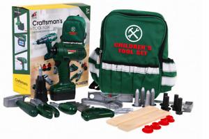 Kleinkind Junge Spielzeug Werkzeugkoffer Großes Set  kleiner Mechanic