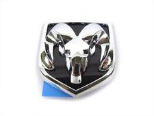 04-09 Dodge Dakota Durango CHROME RAMS HEAD BADGE EMBLEM FOR GRILLE NEW MOPAR