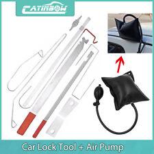 Car Door Lock Out Open Unlock Key Educational Tools Kit + Air Pump Universal set