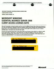Microsoft Windows Essential Business Server 2008 10 CAL