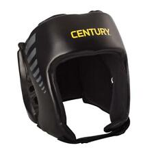 New - Century Brave Lightweight Open Face MMA Headgear - Black/Gray SZ L/XL