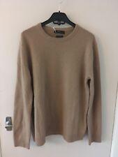 BNWT ZARA Camel Cashmere Sweater Jumper Size L