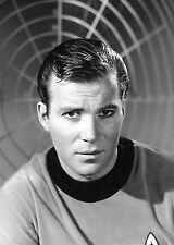 Photo of William Shatner as Captain James T. Kirk on the Starship Enterprise