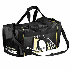 Pittsburgh Penguins Duffle Bag Gym Swimming Carry On Travel Luggage Tote NEW NHL