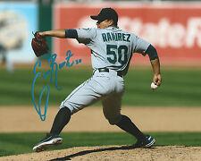 **GFA Seattle Mariners *ERASMO RAMIREZ* Signed 8x10 Photo E1 COA**