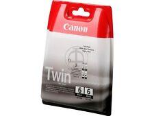 Original CANON TWINPACK BCI-6 BK black iP4000/iP5000/i865/MP750/MP780 Multipack