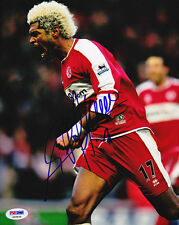 Abel Xavier SIGNED 8x10 Photo Portugal *VERY RARE* PSA/DNA AUTOGRAPHED
