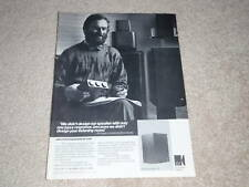 KEF Reference 102 Speaker Ad, Article, 1987, 1 page