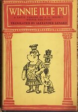 Winnie Ille Pu A Latin Version Of A A Milne's Winnie The Pooh HC d/j 1961