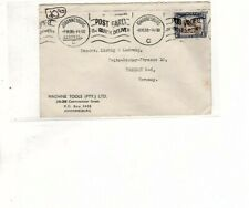 SOUTH AFRICA GERMANY 1939 AIR MAIL COVER TO dresden germany (mb17