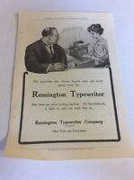 1908 MAGAZINE AD #A3-089 - Remington Typewriter