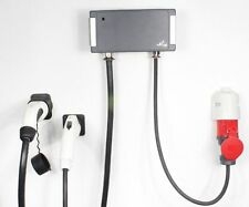 Wallbox dual-tipo 1+2 Zoe 22kw EEC 32a +7,4kw bmw i3 + typ1 F. Leaf etc