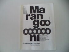 advertising Pubblicità 1979 MARANGONI PNEUMATICI