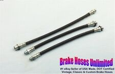 BRAKE HOSE SET Plymouth Special DeLuxe, P18, P19, P20 - 1949 1950