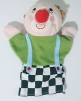 Ikea Clown Hand Puppet Plush Toy Children's Toy 24cm Tall!