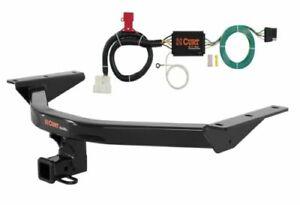 Curt Class 3 Trailer Hitch & Custom Wiring Connector for Honda Pilot EX/LX/EX-L