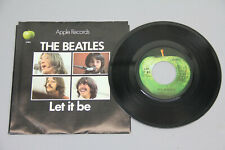 THE BEATLES LET IT BE 45 RECORD VINYL VG+ ORIGINAL MUSIC RETRO PICTURE SLEEVE