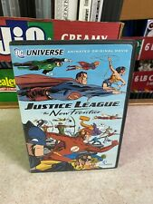 New listing Dvd Lightly Used (Played Once) Disc Justice League The New Frontier