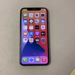 Apple iPhone X - 256GB - Silver (Unlocked) (Read Description) BI1152